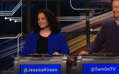 ACI Alum, Jessica Kirson, on Comedy Central's @Midnight