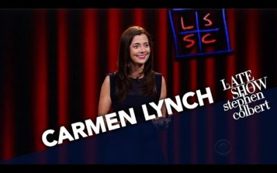 ACI Alum, Carmen Lynch, on The Late Show with Stephen Colbert